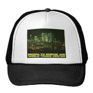 Brooklyn Bridge and World Trade Center Mesh Hats