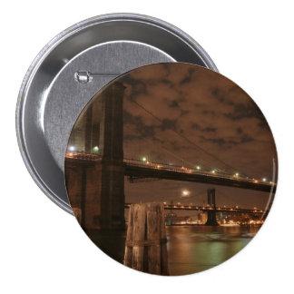 Brooklyn Bridge at Night Pins