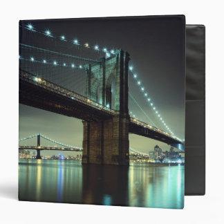 Brooklyn Bridge at night  Manhattan Bridge Binder
