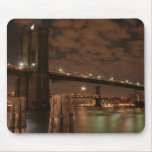 Brooklyn Bridge at Night Mouse Pad
