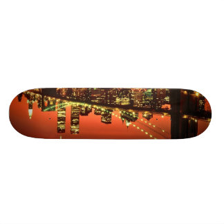 Brooklyn Bridge at Night Skateboard Deck