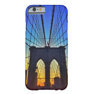 Brooklyn Bridge At Sunset Barely There iPhone 6 Case