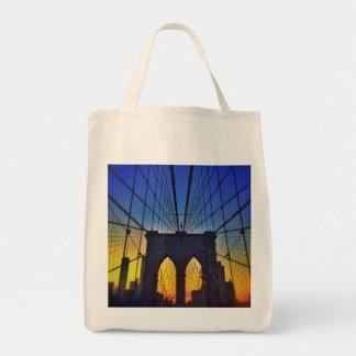 Brooklyn Bridge At Sunset Tote Bag