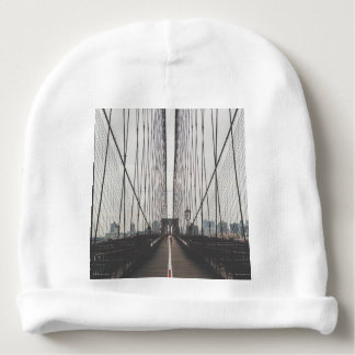 brooklyn bridge baby beanie