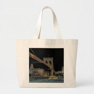 Brooklyn Bridge Canvas Bag