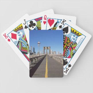 Brooklyn Bridge Bicycle Playing Cards