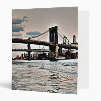 Brooklyn Bridge Binder
