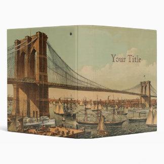 Brooklyn Bridge Vinyl Binders