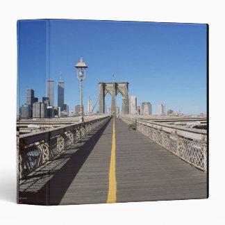 Brooklyn Bridge 3 Ring Binder
