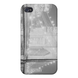 Brooklyn Bridge Black and White iPhone 4/4S Cases