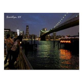 Brooklyn Bridge, Brooklyn, NY Postcard