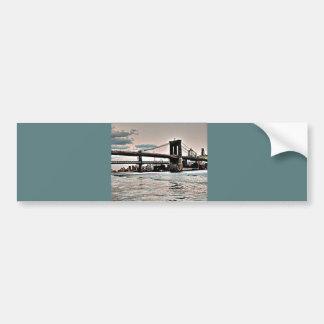 Brooklyn Bridge Car Bumper Sticker