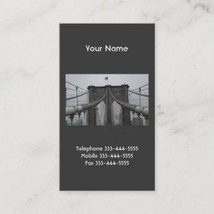 Brooklyn bridge business cards templates zazzle brooklyn bridge business cards colourmoves