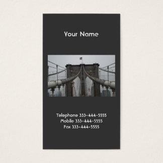 Brooklyn Bridge Business Cards