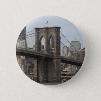Brooklyn Bridge Button