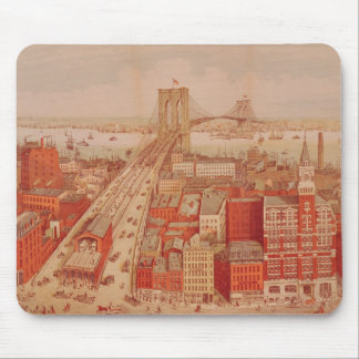 Brooklyn Bridge, c.1883 Mouse Pad