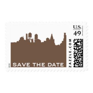 Brooklyn Bridge C by Ceci New York Postage Stamps