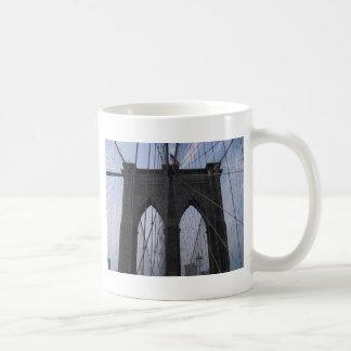 Brooklyn Bridge Cables Coffee Mug