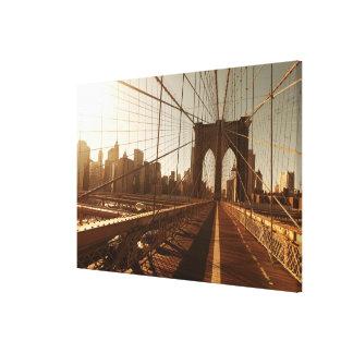 Brooklyn Bridge. Stretched Canvas Prints
