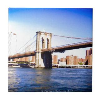 Brooklyn Bridge Ceramic Tile
