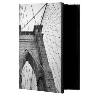 Brooklyn Bridge Closeup Black & White Photo Powis iPad Air 2 Case