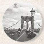 Brooklyn Bridge Coaster Beverage Coaster
