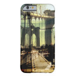 brooklyn bridge collage, NYC iPhone 6 Case