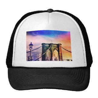 Brooklyn Bridge - Colorful - New York City Hat