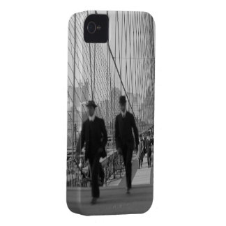 Brooklyn Bridge Crossing iPhone 4 Case-Mate Case