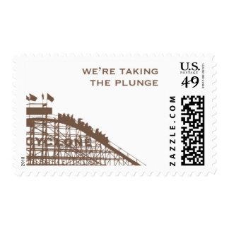 Brooklyn Bridge D by Ceci New York Stamp
