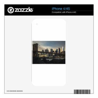 Brooklyn Bridge Decal For The iPhone 4