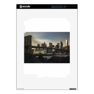 Brooklyn Bridge Decals For The iPad 2
