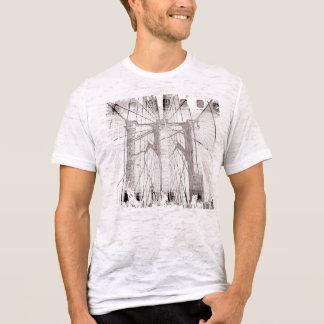 """BROOKLYN BRIDGE"" Destroyed T-Shirt, Vintage"" T-Shirt"