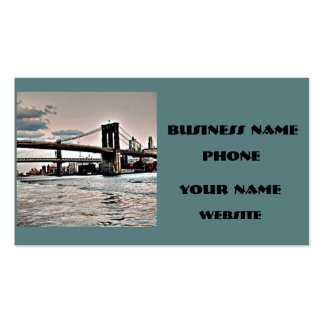 Brooklyn Bridge Double-Sided Standard Business Cards (Pack Of 100)