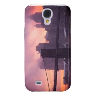 Brooklyn Bridge During Snowstorm Galaxy S4 Case