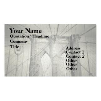 Brooklyn Bridge Elegant Double-Sided Standard Business Cards (Pack Of 100)