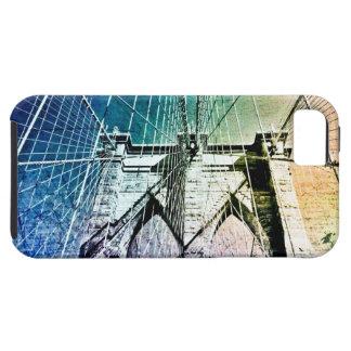 Brooklyn Bridge - Frozen in Ice - NYC iPhone SE/5/5s Case