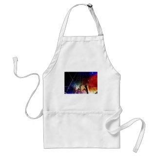Brooklyn Bridge - Galaxies - NYC Adult Apron