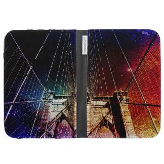 Brooklyn Bridge - Galaxies - NYC Kindle Folio Case