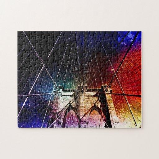 Brooklyn Bridge - Galaxies - NYC Puzzle
