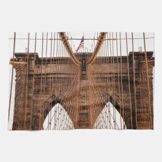 Brooklyn Bridge Hand Towels