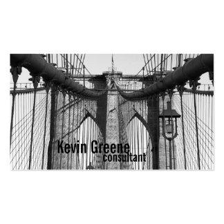 Brooklyn bridge heritage business card