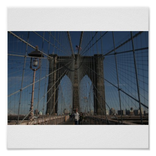 Brooklyn bridge impresiones