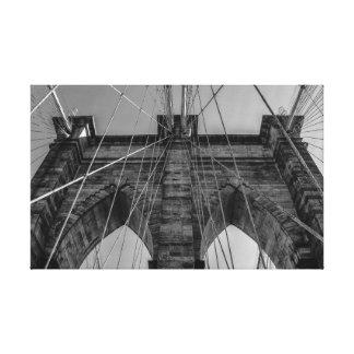 Brooklyn Bridge in New York City Canvas Print