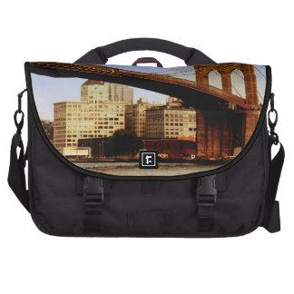 Brooklyn Bridge in New York City Laptop Bags