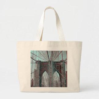 Brooklyn Bridge in NYC Canvas Bag