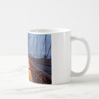Brooklyn Bridge in the evening Coffee Mug