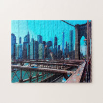 Brooklyn Bridge. Jigsaw Puzzle