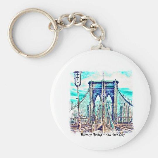 Brooklyn Bridge Keychain