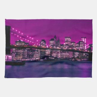 brooklyn bridge kitchen towel